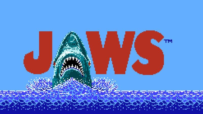 LJN's infamous Jaws for the NES