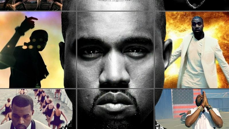 Illustration for article titled MTV honors Kanye West's very existence, offers him its Video Vanguard Award