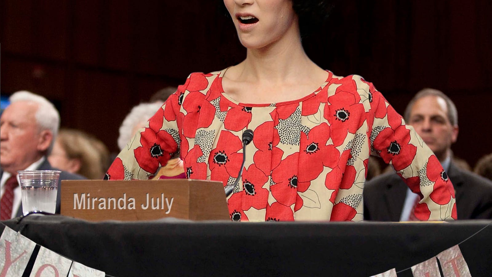 Miranda July Called Before Congress To Explain Exactly What Her