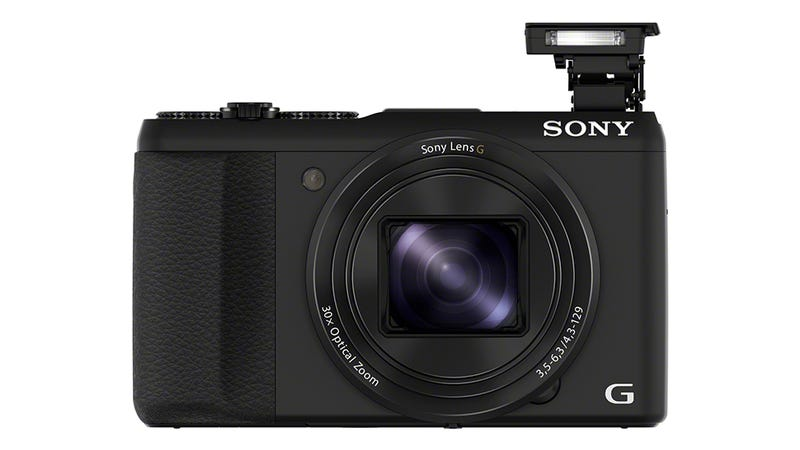 Illustration for article titled Sony HX50V: A Massive Superzoom Camera Dressed Like a Skinny Superstar