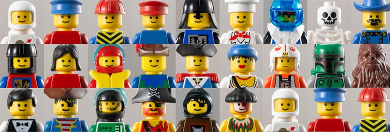 Illustration for article titled Exclusive: The Evolution of the Minifig