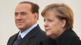 "Illustration for article titled Berlusconi Said Something ""Vulgar"" About Angela Merkel's Body"