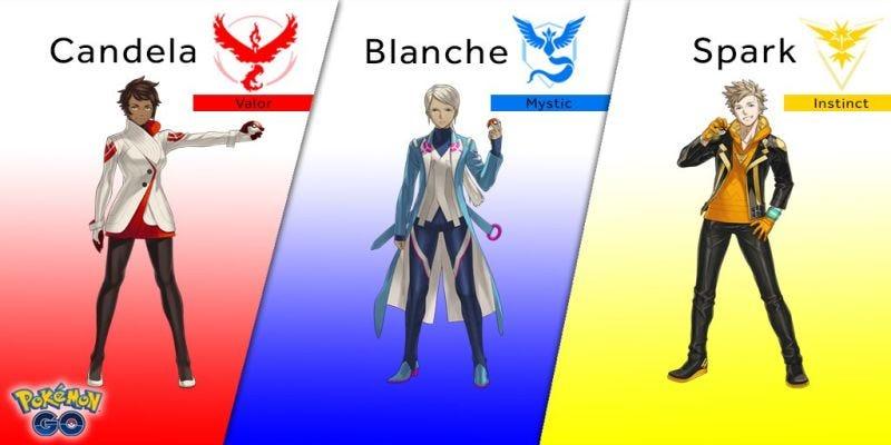 Pokémon Go's Team Leaders Now Actually Do Something