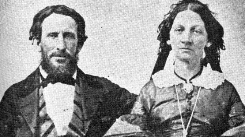 James and Margaret Reed (public domain)