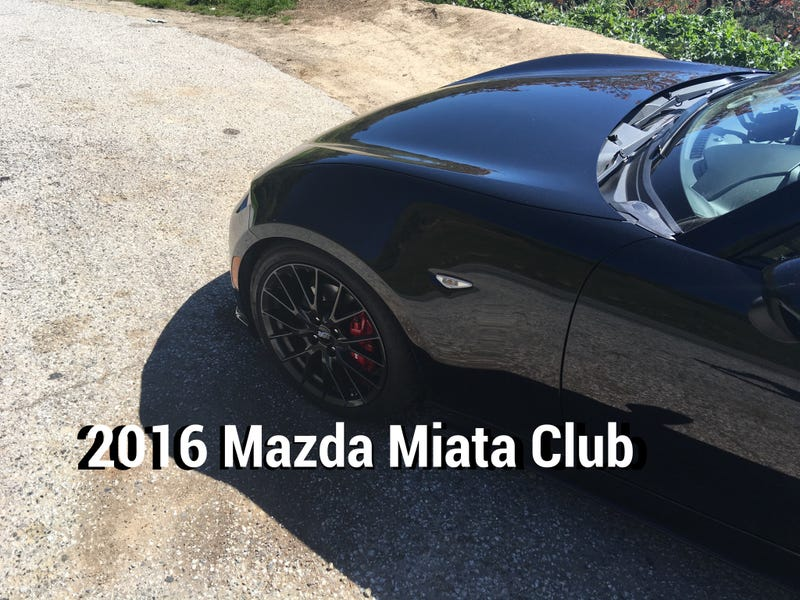 Illustration for article titled 2016 Mazda MX-5 Miata is Fastest Downhill, Video