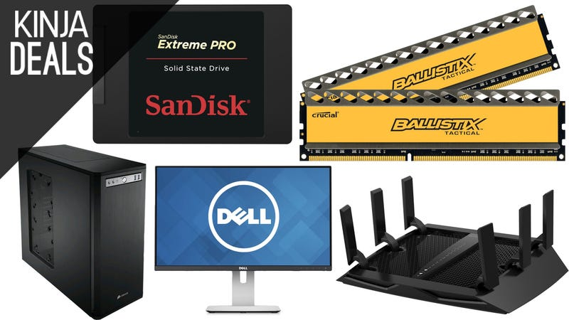 Illustration for article titled Build or Upgrade Your PC With Today's Amazon Gold Box