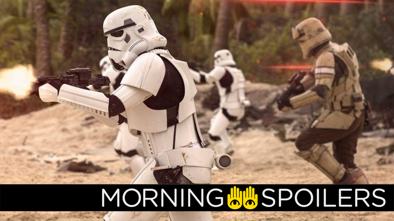 Illustration for article titled The Han Solo Movie Gives Us Our First Look at a New Kind of Stormtrooper
