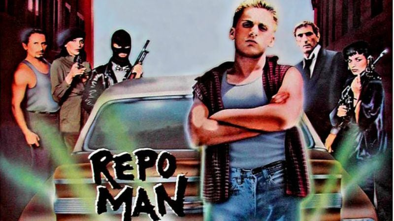 Illustration for article titled The life of a Repo Man is always intense
