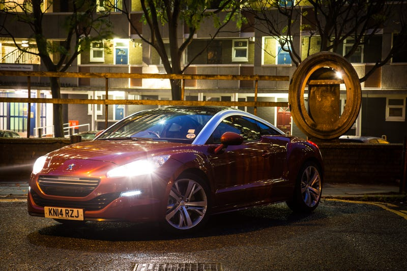 Illustration for article titled Why the Peugeot RCZ is all the sports car you need for city driving