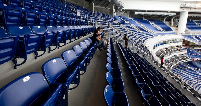 Illustration for article titled The Marlins Will Close Their Empty Upper Deck For Weeknight Games