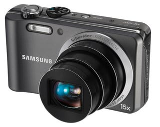 Illustration for article titled Samsung HZ35W Slim Camera: 15x Zoom in a Slimmer Cam and GeoTagging