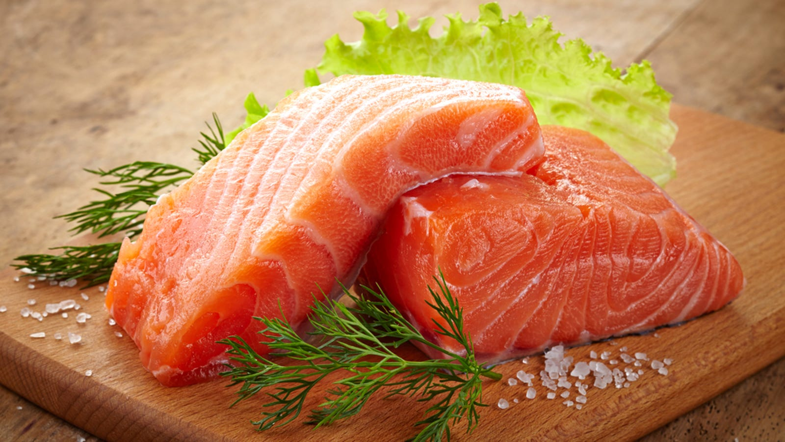 Farmed Salmon Is Dyed From Gray To Pink So Consumers Wont Freak Out