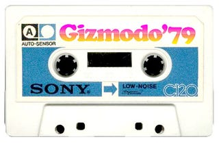 Illustration for article titled The Blank Generation: 1979 as Audio Cassette Enabler