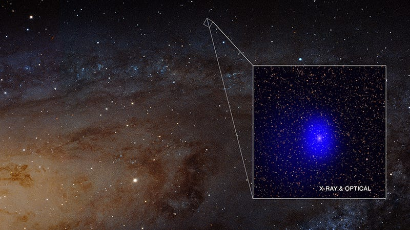 Image: X-ray: NASA/CXC/Univ. of Washington/T.Dorn-Wallenstein et al.; Optical: NASA/ESA/J. Dalcanton, et al. & R. Gendler