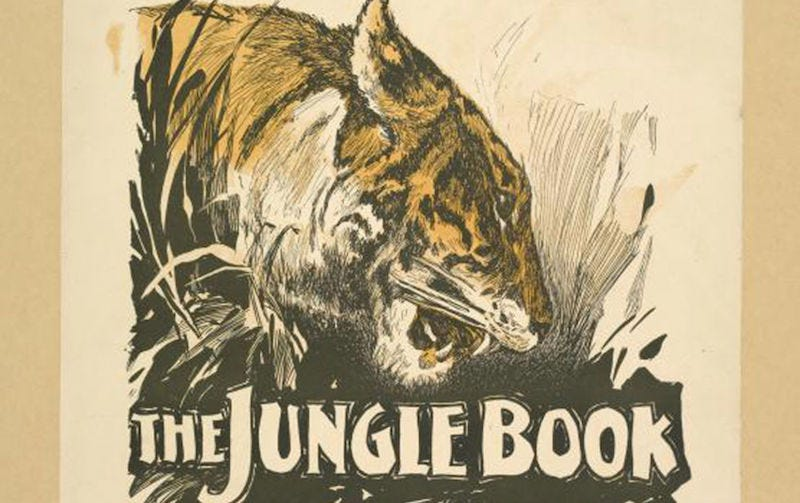 Illustration for article titled Reminder: Rudyard Kipling Was a Racist Fuck and The Jungle Book Is Imperialist Garbage
