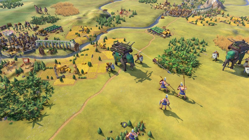 Illustration for article titled Civilization VI's Next Faction Is An Old Favourite