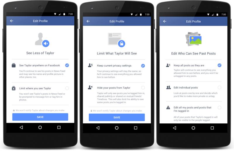 Facebook introduce una serie de opciones para que puedas olvidar a tu ex