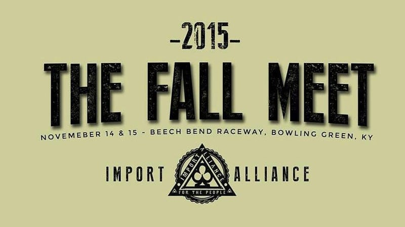 Illustration for article titled Anyone Going to Import Alliance Fall Meet?