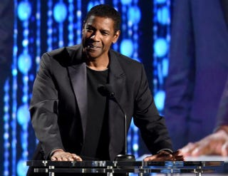 Denzel Washington speaks onstage during the Academy of Motion Picture Arts and Sciences' seventh annual Governors Awards in Hollywood, Calif., Nov. 14, 2015.Kevin Winter/Getty Images