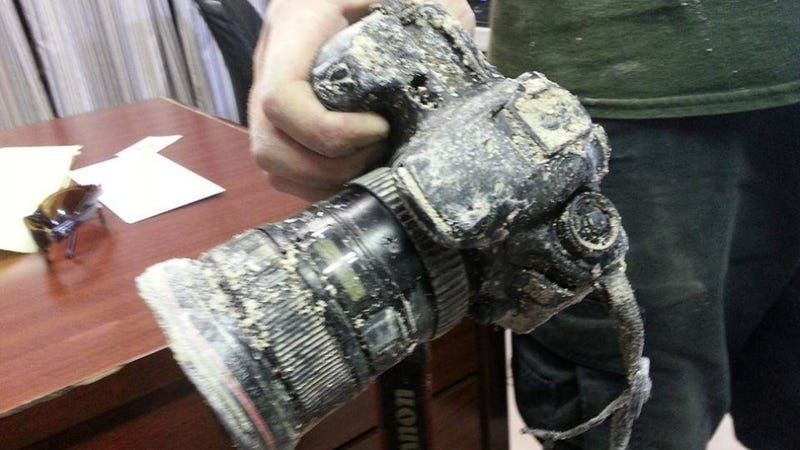 Illustration for article titled DSLR Stolen By An Alligator Was Rescued After Eight Months