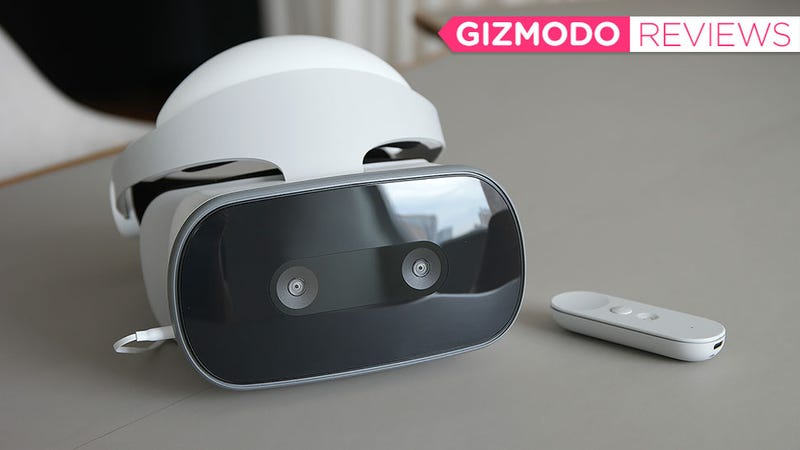 Illustration for article titled Lenovo Made a Souped Up Oculus Go That's Missing Just One Key Feature