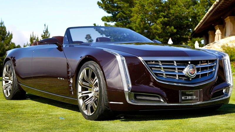 The Cadillac Ciel Concept Is A Car So Breathtaking And Magnificent That Only Thing Separates It From Rolls Royce Fact