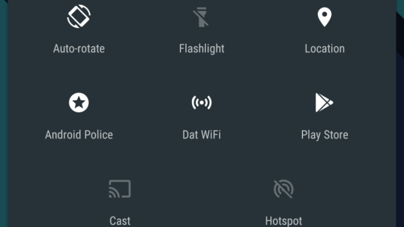 Illustration for article titled Custom Quick Settings Creates Your Own Settings Tiles in Android Marshmallow