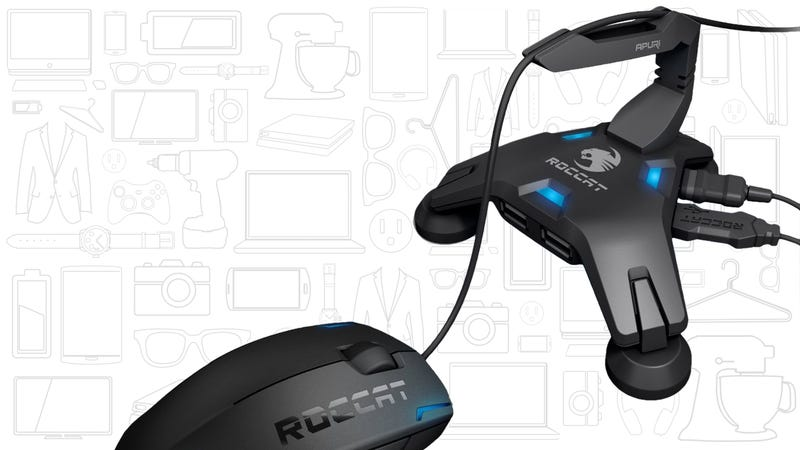 7e1c642ee6f Roccat Apuri Mouse Bungee with Active USB Hub
