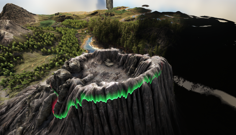 Ark: Survival Evolved's Volcano Is About to Erupt, And Players Will