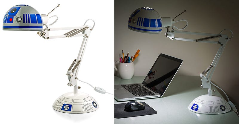 Illustration for article titled This Lamp Is the Offspring of R2-D2 and Pixar's Luxo Jr.