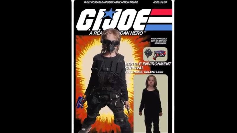 Illustration for article titled G.I. Joe voice actors help children with disabilities become real American heroes