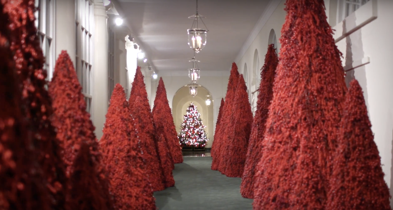 The White House Continues Its Tradition of Turning Christmas Into a Horror Film