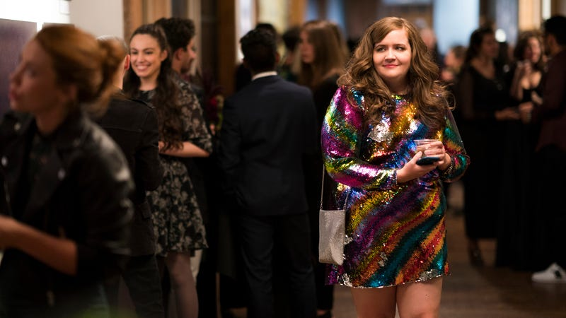 486eec0490440 Illustration for article titled Last Call  Aidy Bryant s amazing dresses on  Shrill don t