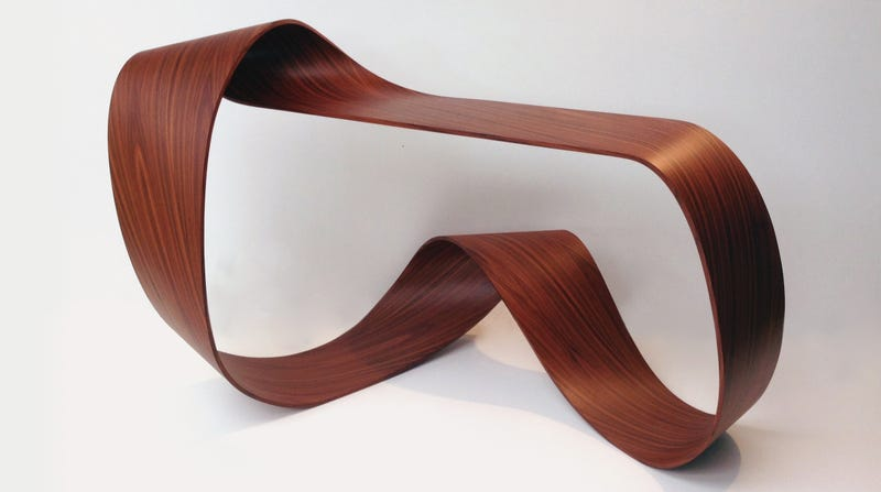 Illustration for article titled Your Cup of Coffee Sits on Every Side of This Möbius Table