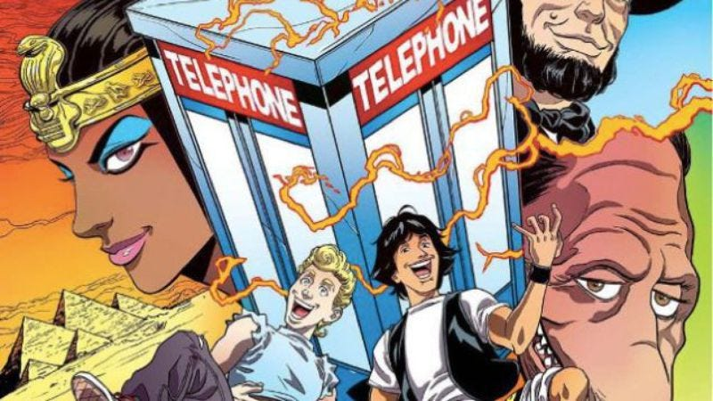 Illustration for article titled Bill & Ted still don't have a sequel, but they are getting a new comic book
