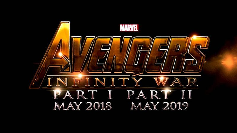 Illustration for article titled Avengers: Infinity War to be filmed entirely in IMAX, why not, they've got the money
