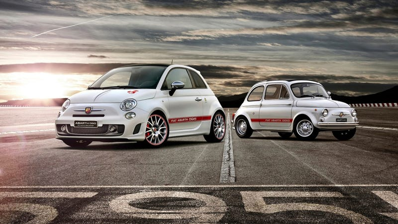 Illustration for article titled Fiat Abarth 595 Is A Delightful 180 Horsepower Italian With A 'Tude