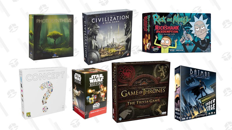 Freshen Up Your Board Game Collection With This HUGE Amazon Gold Box