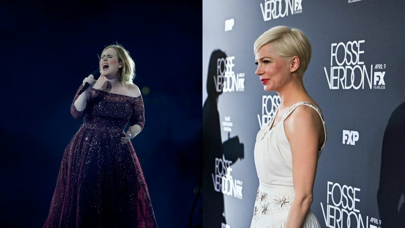 I'm Sorry to Report That Adele and Michelle Williams Are Both Single Now