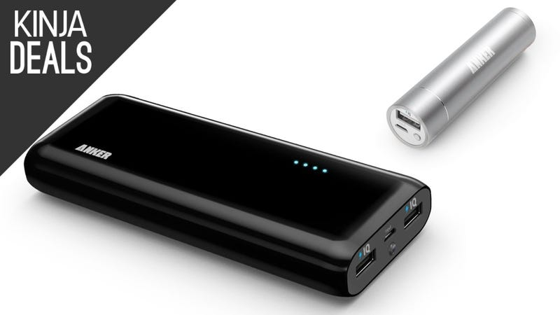 Illustration for article titled Buy One Anker External Charger, Get One Free