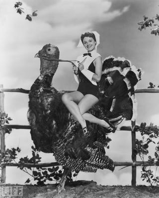 Illustration for article titled The Pin-Up Pilgrim Goes For A Turkey Trot
