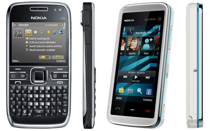 Illustration for article titled Nokia E72 And 5530 XpressMusic Are Now Official