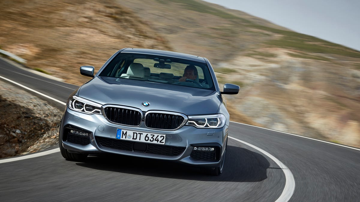 The 2017 Bmw M550i Is Quicker Than The Current M5