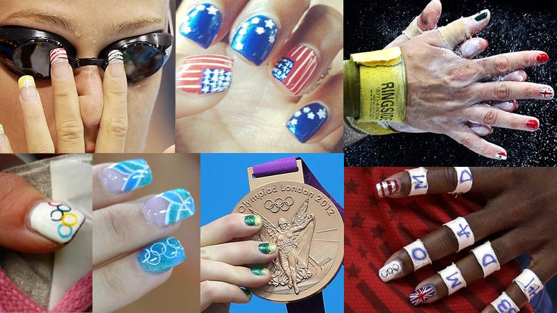 Illustration for article titled Your Olympic Nail Art Roundup