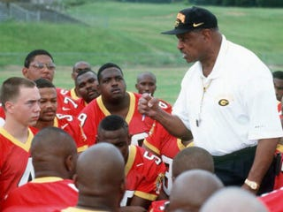 Coach Eddie Robinson, who died in 2007 (Stephen Dunn/Getty Images)