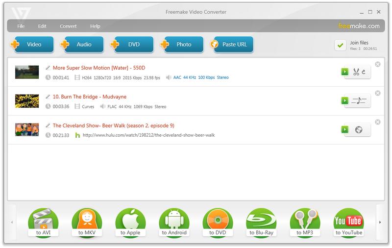 Illustration for article titled Quick Tip: Download Freemake Video Converter