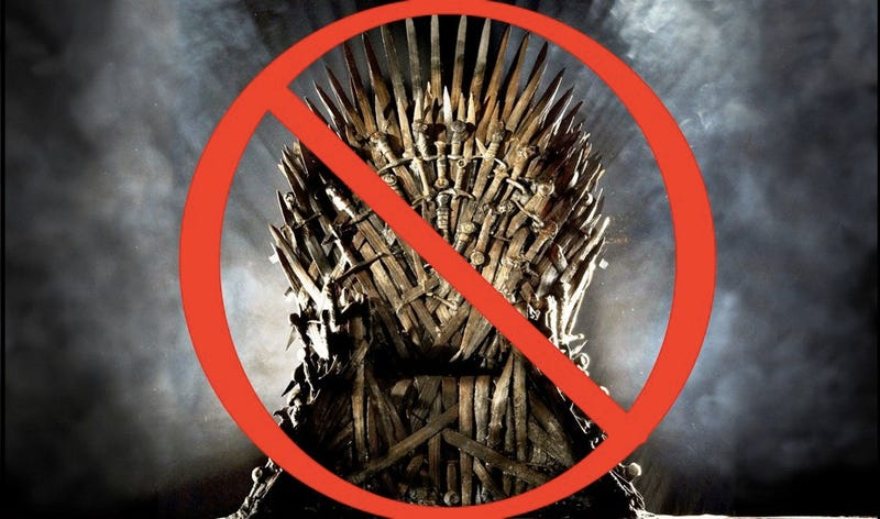 Illustration for article titled George R.R. Martin: This is what the Iron Throne REALLY looks like