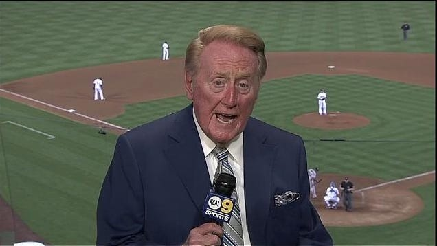 Vin Scully Raced Jackie Robinson On Ice Skates