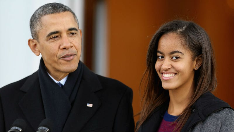 Illustration for article titled Malia Obama, Rap Tastemaker, Might Attend College in New York City