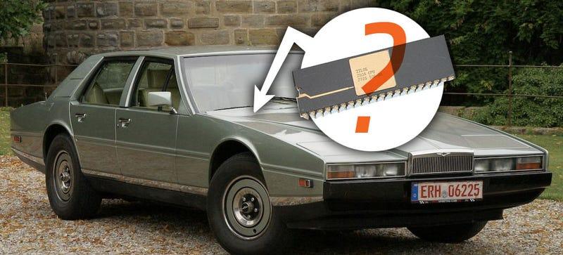 Can We Emulate An Aston Martin Lagonda S Crt Dash